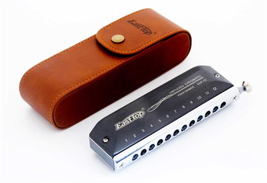 Easttop Chromatic Harmonica - EAP-12 with bag
