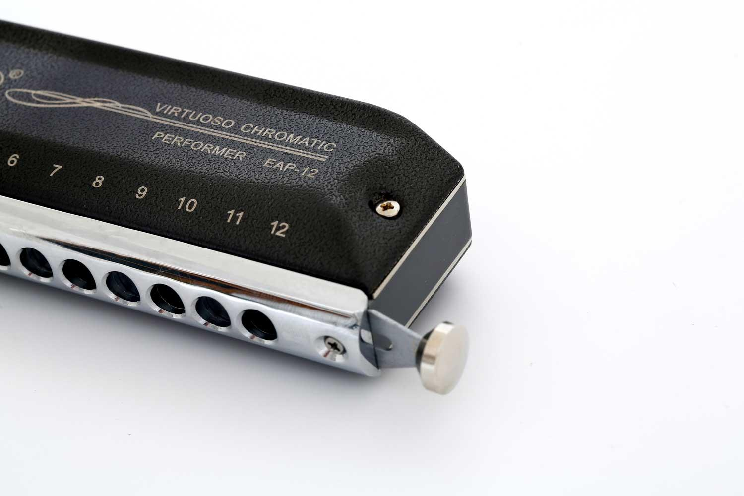 Easttop Chromatic Harmonica - EAP-12 right side