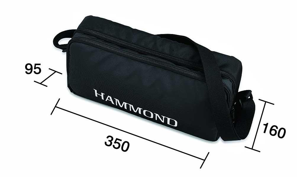 Hammond PRO-24B BASS Elektric Acoustic Melodion bag size