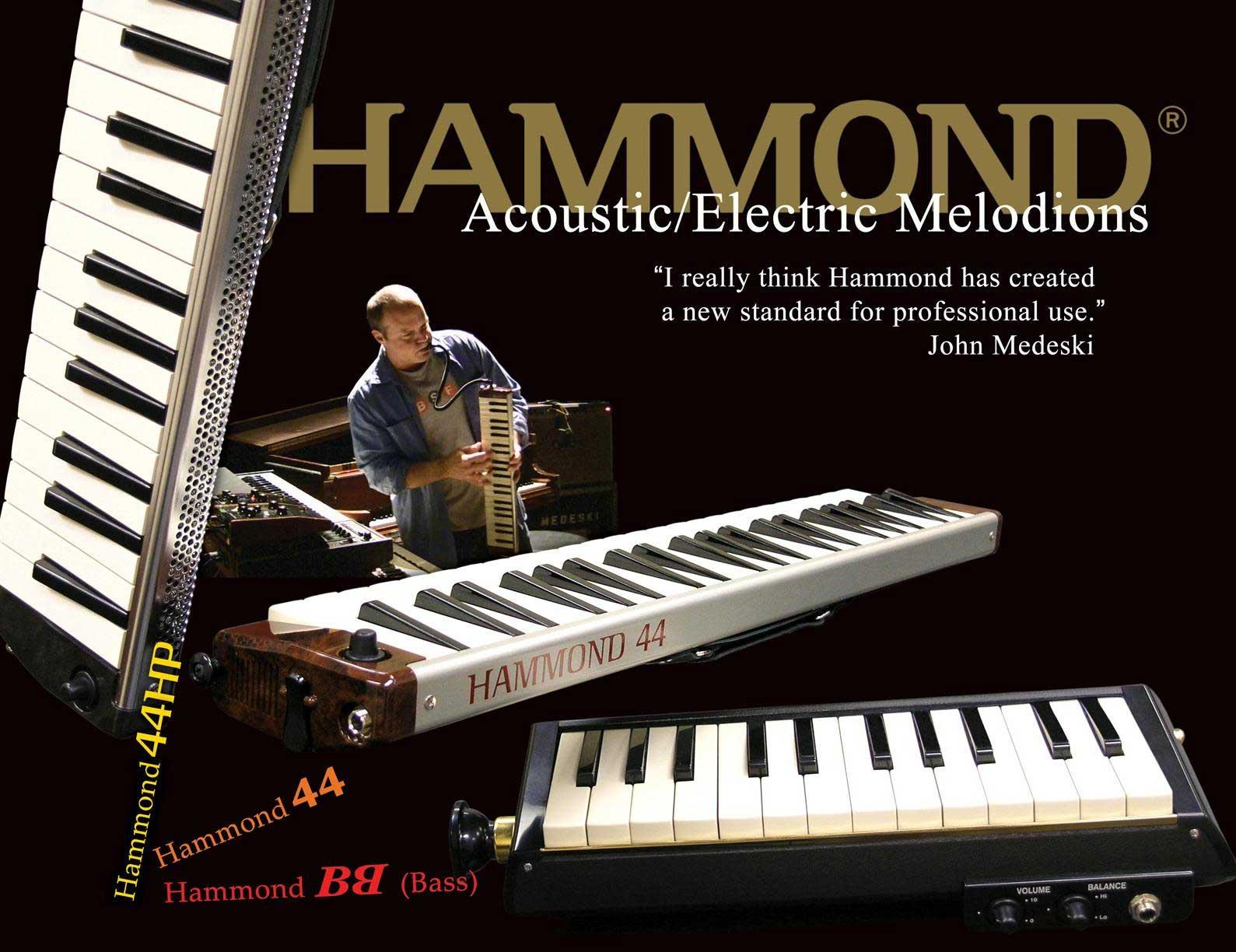 Hammond PRO-44HP High Power Alto Elektric / Acoustic Melodion program