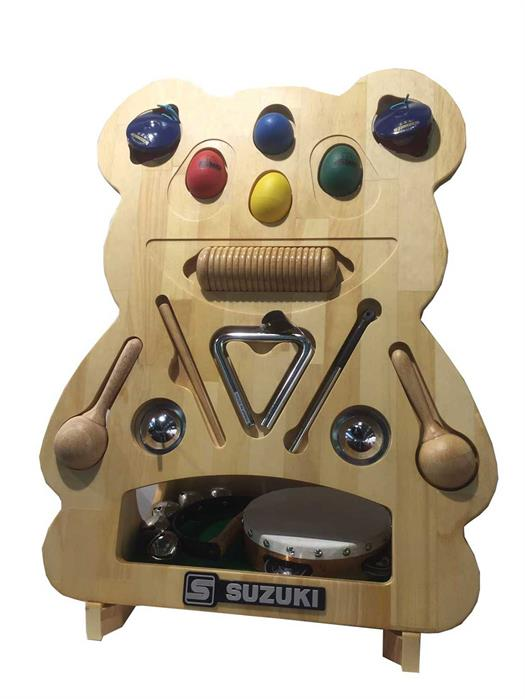 Suzuki Rhythm Percussion Bear
