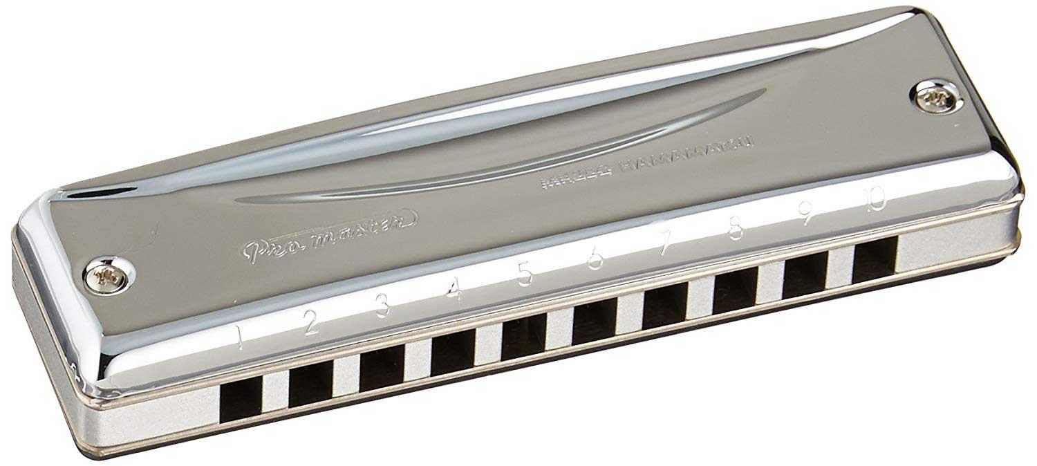 Suzuki Harmonica Promaster MR-350 - Box set alone