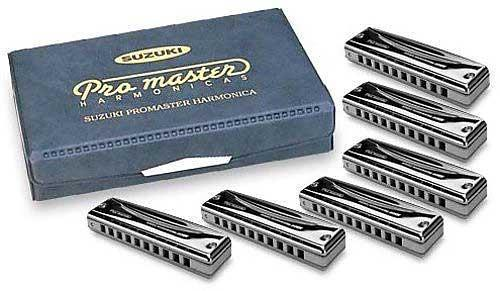 Suzuki Harmonica Promaster MR-350 - Box set