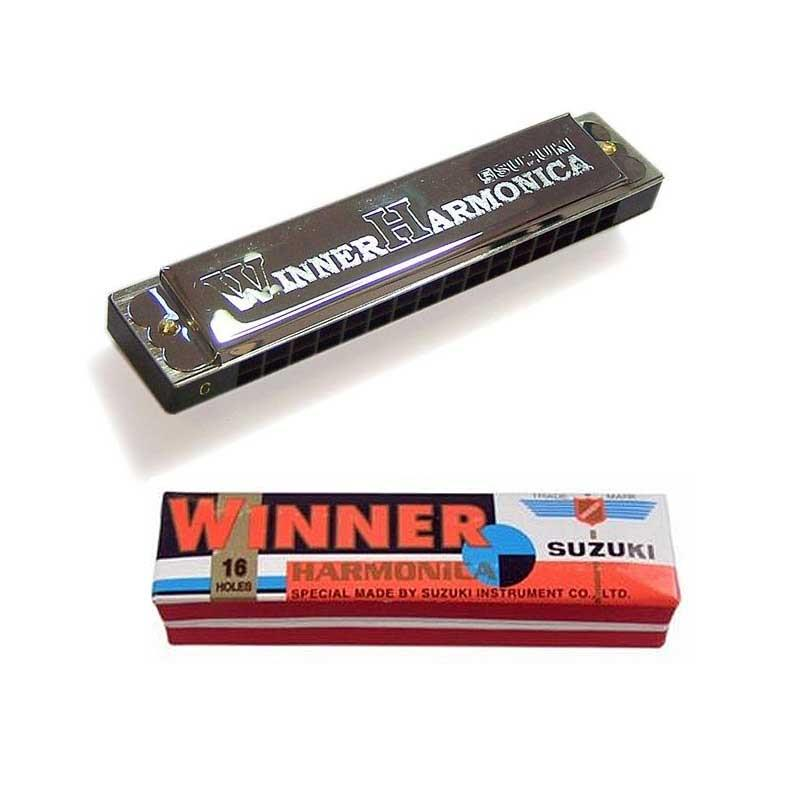 Suzuki Winner Tremolo 16 Harmonica with cover