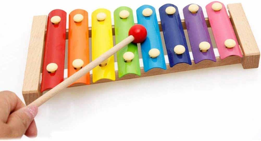 Xylophone DF918-B with 8 keys mallet