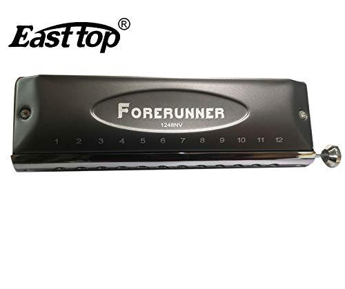 Easttop Forerunner Chromatic Harmonica 12 hole - Model 12-48NV  - Key C