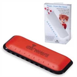 Suzuki airwave harmonica - Red