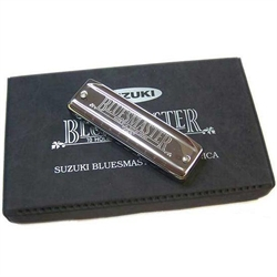 Suzuki Bluesmaster  harmonica Box set with 6 keys