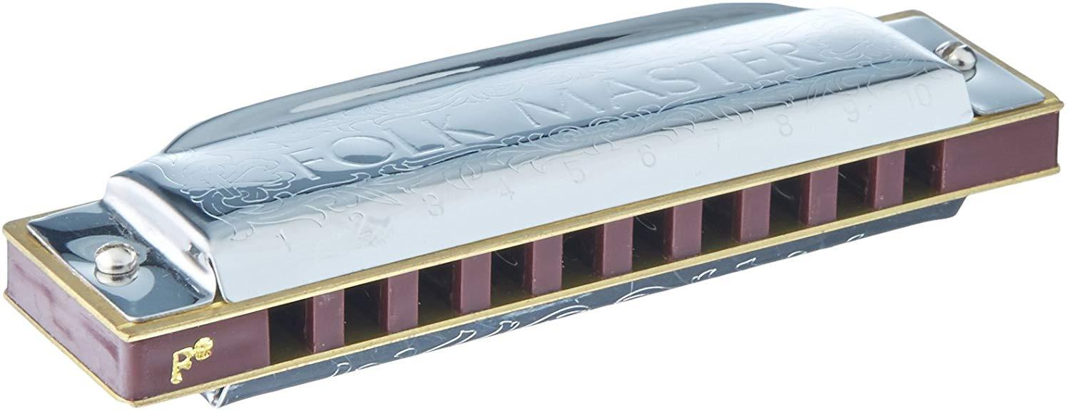 Suzuki Folkmaster 1072 Harmonica Box set with 12 keys alone